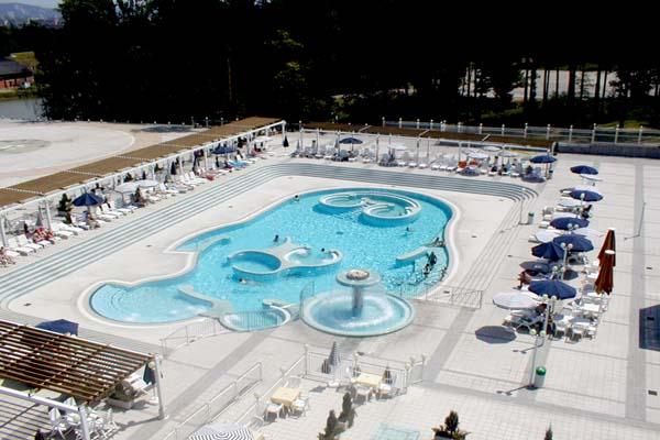Slovenia terme hotel habakuk terme maribor for Piscine esterne rettangolari